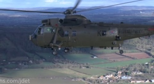 Farewell to the Royal Navy's Commando Sea King Helicopter