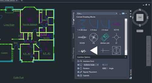 AutoCAD 2020: Blocks palette | AutoCAD