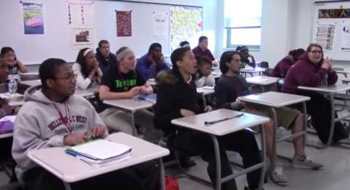 Belleville West students react to winning Follett Challenge Grand Prize