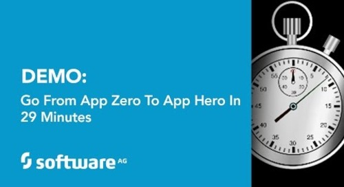 Demo: Go from App Zero to App Hero in 29 Minutes