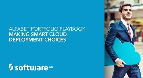 Alfabet Portfolio Playbook: Making smart cloud deployment choices