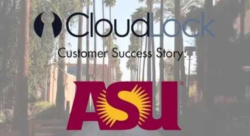 Customer Testimonial - Vincent Boragina at Arizona State University