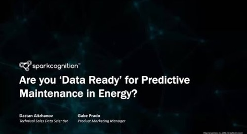 Webinar: Are You Data-Ready for Predictive Maintenance in Energy?