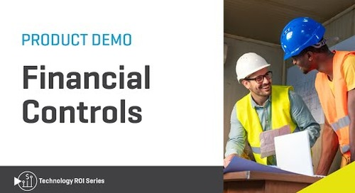 Viewpoint Financial Controls Overview Demo