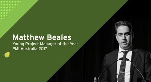 Matt Beales: Young Project Manager of the Year 2017