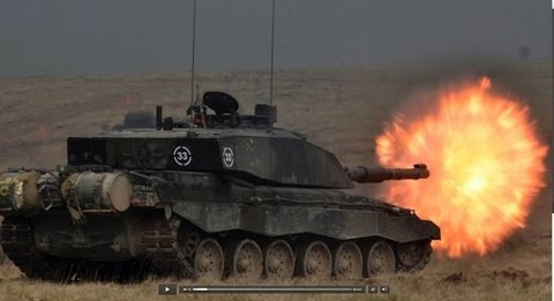 3rd (UK) Division Combined Arms Demonstration - Lead Armoured Task Force