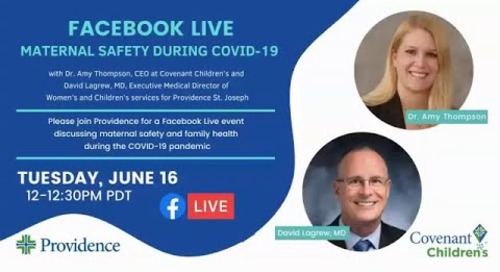 Maternal Safety during COVID-19