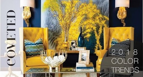 Discover Your Home Interior Color Trends For 2018 | The Complete Guide by CovetED Magazine