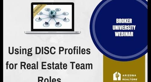 D I S C For Real Estate Team Roles 6.21.2016