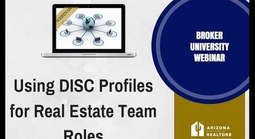 D I S C For Real Estate Team Roles 6.21.2016