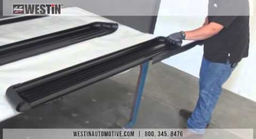 Installation of Sure-Grip Running Boards on 2014 Dodge Ram 1500 Crew Cab