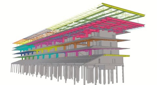 Tekla BIM Awards France 2020 : JAILLET ROUBY - TRIBUNE HIPPODROME PARIS LONGCHAMP