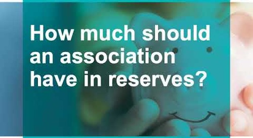 Reserve Studies and Budget Webinar