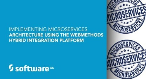 Demo: Implementing microservices with webMethods hybrid integration