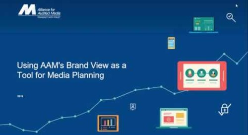 Using AAM's Brand View as a Tool for Media Planning [webinar]