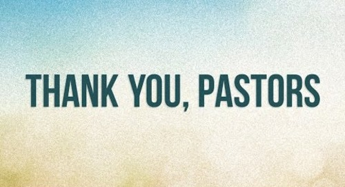 Thank You, Pastors, from CPH