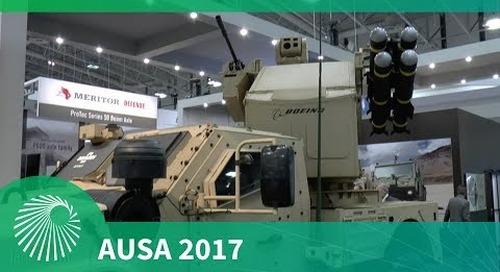 AUSA 2017: Flexible weapons integration on the Oshkosh JLTV