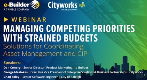 Managing Competing Priorities with Strained Budgets