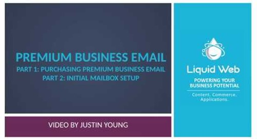 Getting Started With Premium Business Email