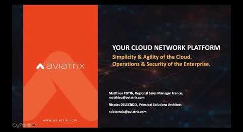 TechTalk Comment bâtir un réseau multi cloud sur AWS, Azure et GCP