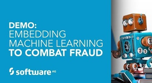 Demo: Using machine learning to combat fraud