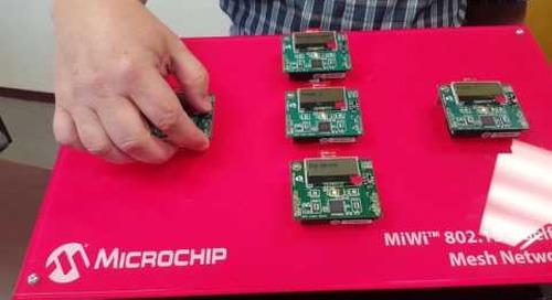 Industrial IoT Roadshow – Chandler, AZ: Microchip and the 8-bit Self-Healing IIoT Mesh