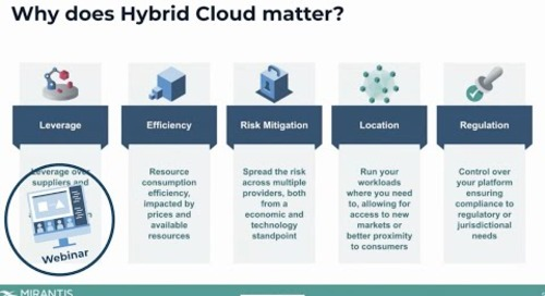 Cloud Native Data Center as the Future of Modern Infrastructure [webinar]