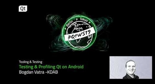 Test and profile Android applications with Qt