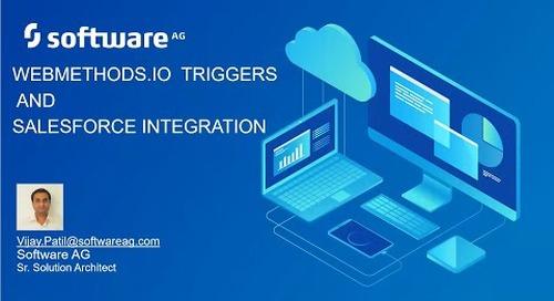 Demo webMethods.io Triggers for Salesforce Integration