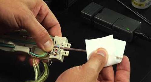 FuseConnect MPO 3mm Installation