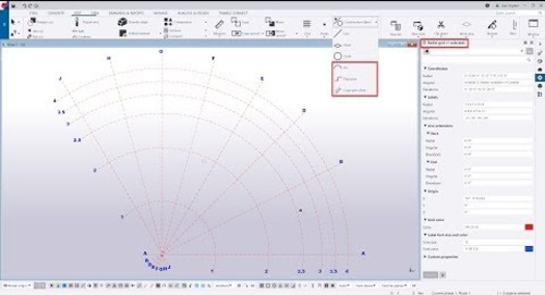 Curved Construction Objects and Radial Grids in Tekla Structures 2019