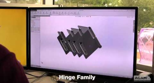 Hinge Design and Production