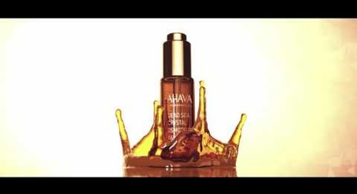 [Video] Turn Back Time: Dead Sea Crystal Osmoter™ Facial Serum - Newly Surfaced from AHAVA