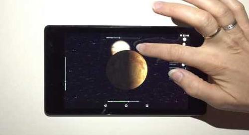 Qt 5.5 - 3D Planets Example