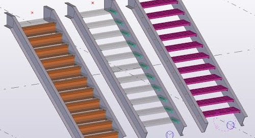 Create Custom Stair Treads that can be used inside the stair tools in Tekla Structures