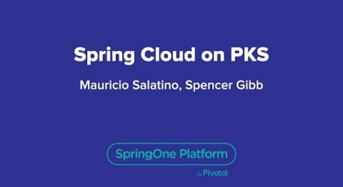 Spring Cloud on PKS
