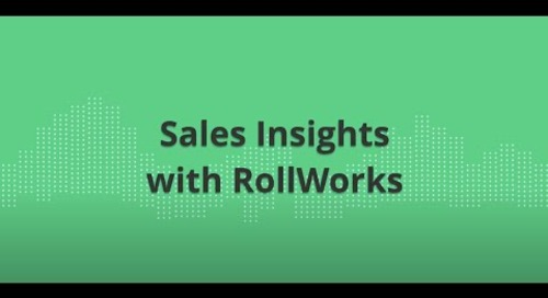Sales Insights from RollWorks - Demo Video