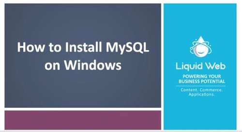 How to Install MySQL on Windows