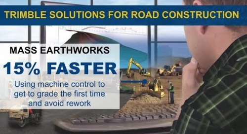 Trimble Solutions for Road Constrution