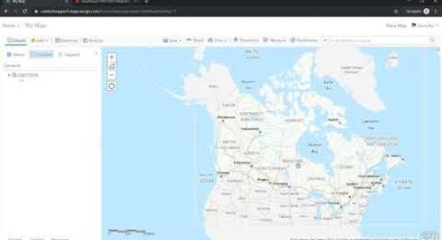 How to Change the Projection in ArcGIS Online