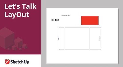 Let's Talk LayOut: Saving Templates