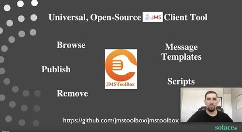 How to use JMSToolBox with Solace PubSub+