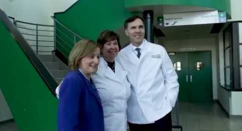 Bill Morneau and Anita Vandenbeld - Algonquin College