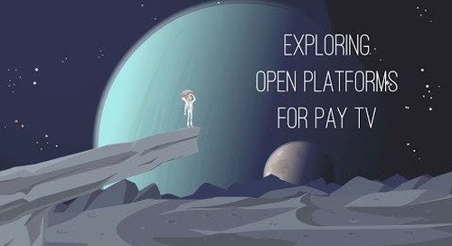 Exploring open platforms for pay TV