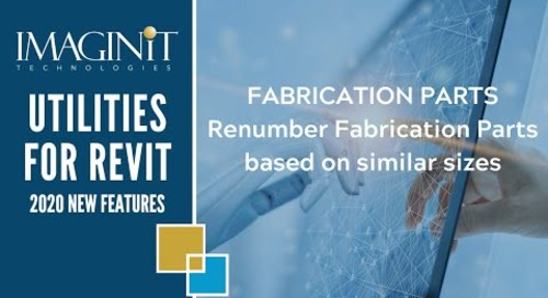 Utilities for Revit Fabrication Parts