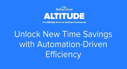 [ALTITUDE20 Product Session] Unlock New Time Savings with Automation-Driven Efficiency