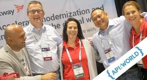 Axway showcases innovation and friendly faces at API World 2018