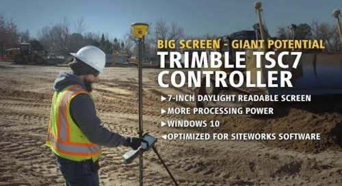 Trimble Siteworks Positioning System for Construction Surveyors