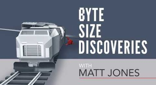 Byte Size Discoveries – Episode 5: Train