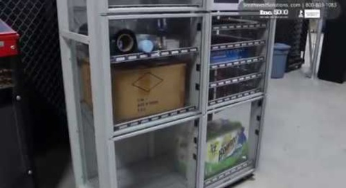 Industrial Inventory Vending Machines High-Density Automated Tool Lockers